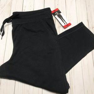 Champion black Leggings sweatpants NWT adjustable
